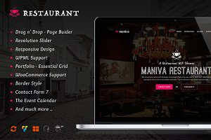 Restaurant - WordPress Theme