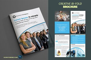 Corporate Bifold Brochure Vol 07