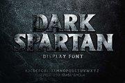 Dark Spartan Display Font