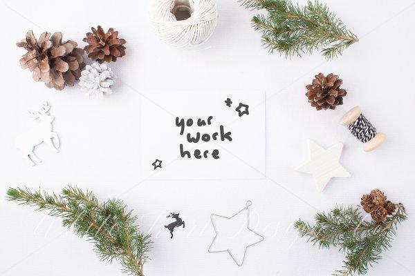 Christmas styled stock photo + Bonu…