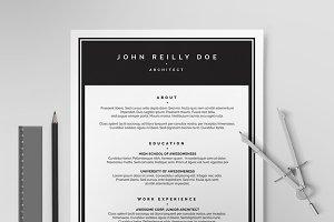 Resume/CV Template X
