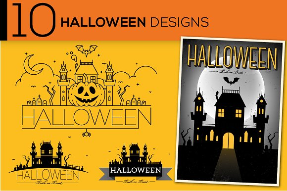 50 Treats for Your Halloween Design Tricks ~ Creative Market Blog