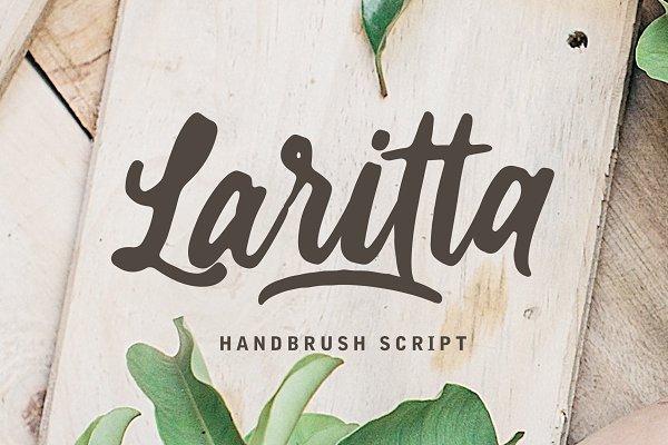 Laritta - Handbrush Script