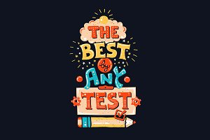 The Best By Any Test Vintage Quote