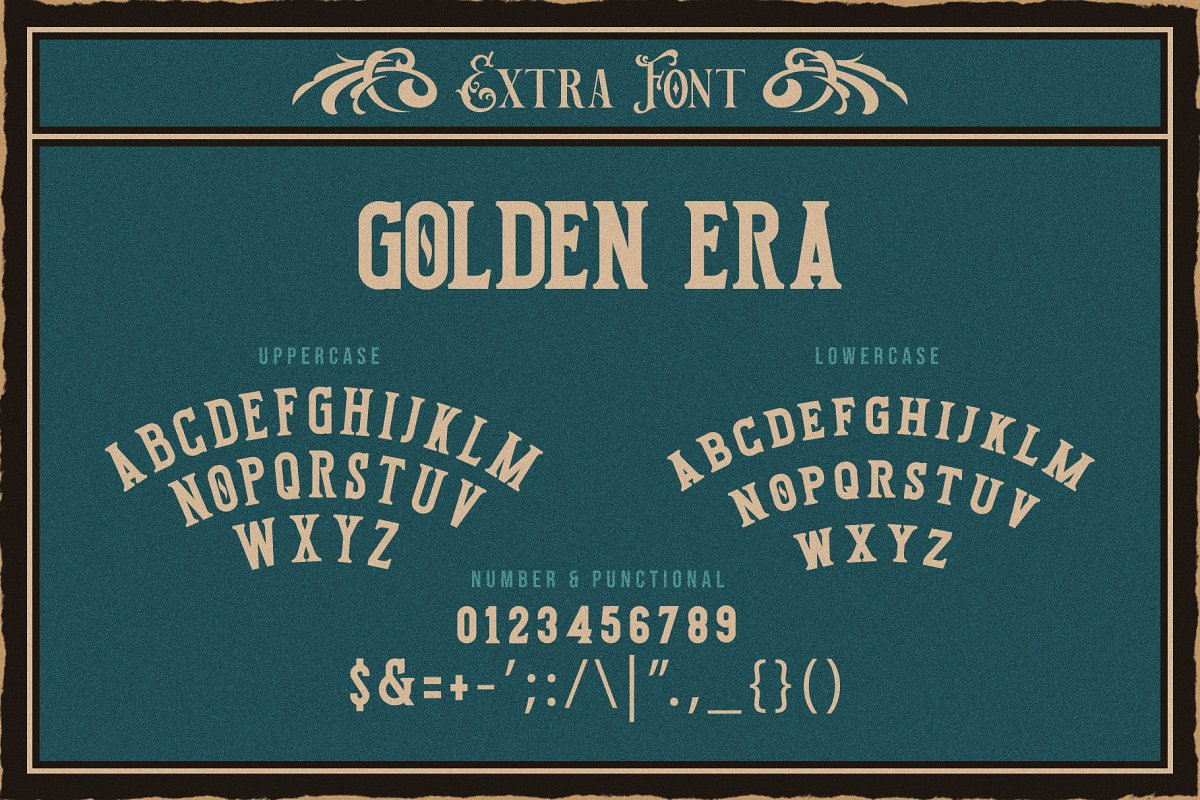 Victorian Decade in Serif Fonts - product preview 1