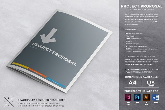 Microsoft Word Business Proposal Template from images.creativemarket.com