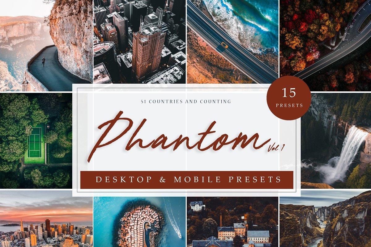 LR Presets | Phantom Drone Vol. 1