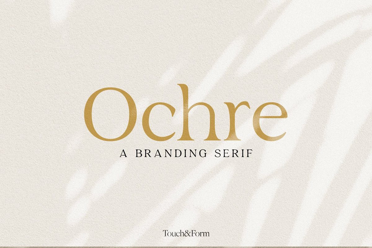 Ochre   A Branding Serif in Serif Fonts - product preview 4