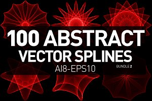 100 Abstract Vector Splines