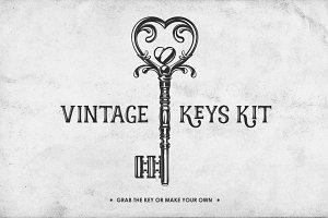Vintage Keys Kit