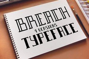 Breach Typeface