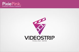 Video Strip Logo Template