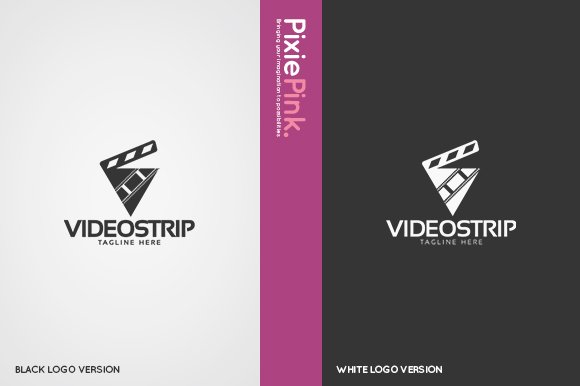 Video Strip Logo Template in Logo Templates - product preview 1