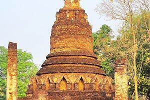 Ruins at Si Satchanalai  Park