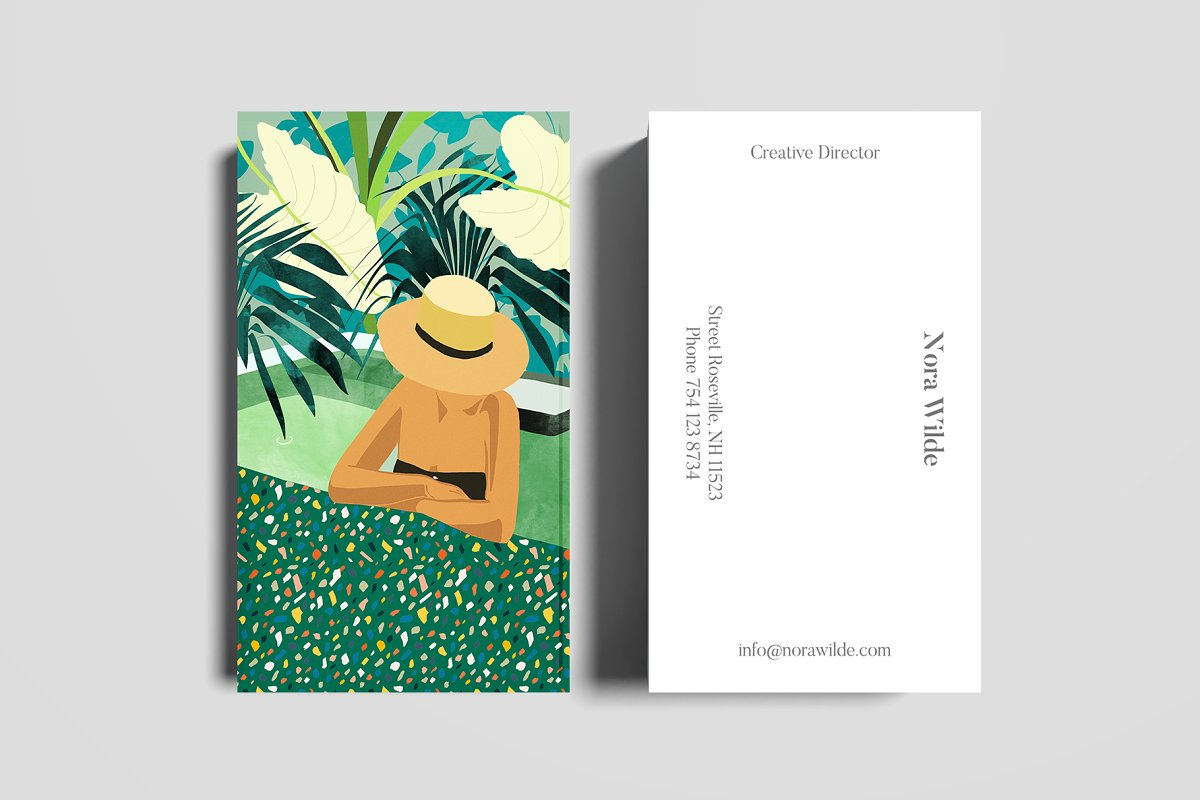 Chill Business Card Template