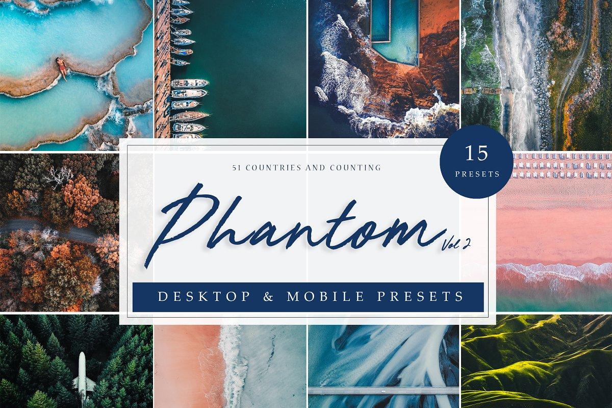 LR Presets | Drone & Aerial Vol. 2