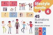 Lifestyle Illustrations Bundle Vol.4