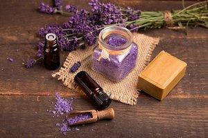 lavender salts