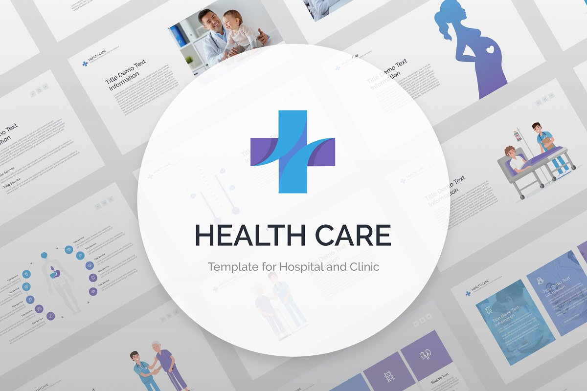 Health Care Powerpoint Powerpoint Templates Creative Market