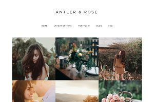 Antler & Rose Genesis Child Theme