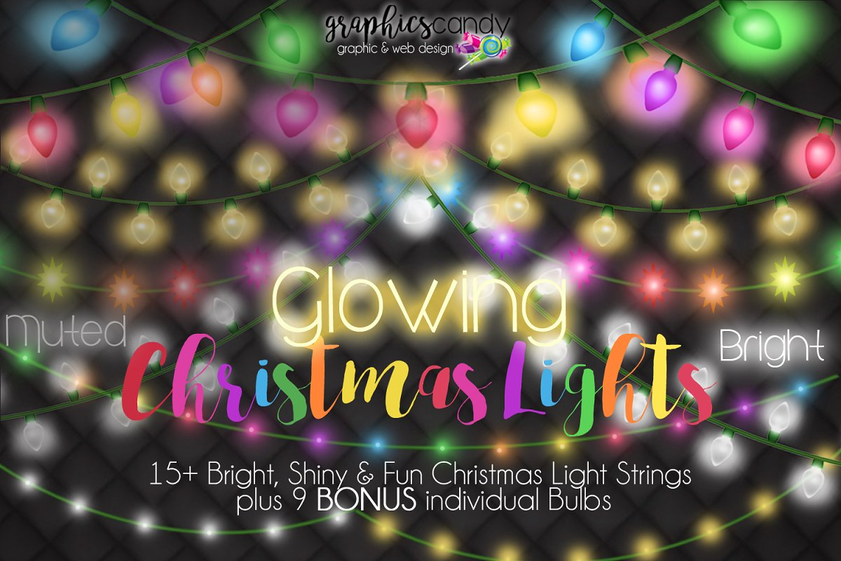 Christmas Lights in Illustrations - product preview 8
