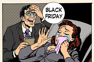 Black Friday women and men