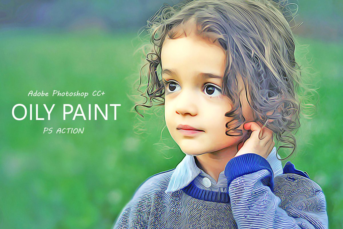 Oily Paint_ Photoshop Action