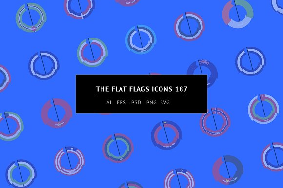 The Flat Flags Icons 187