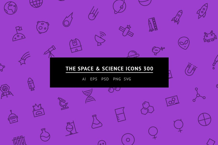 The Space & Science Icons 100