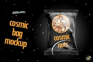 Nuts Bag Mockup