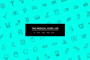 The Medical Icons 100