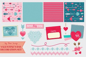 Big set of Valentine's Day designs