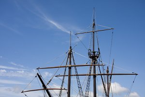 ancient ship Galleon