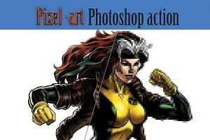 Pixel Art PS Action