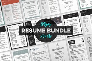 Mighty Resume Bundle