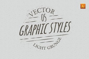 Light Grunge Graphic Styles