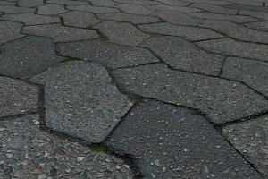 High Res - Cobblestone Pavement
