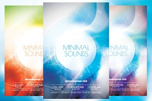 Minimal Sounds Flyer
