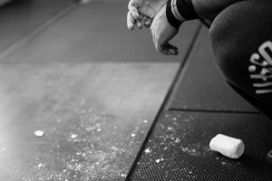 CrossFit Chalk Hands