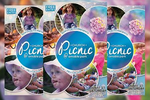 Church Picnic Flyer Vol. 2