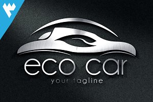Eco Car Logo