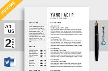 Simple Resume / CV Ms Word