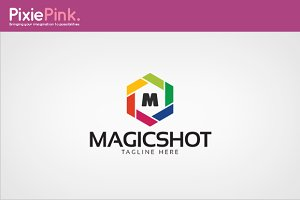 Magic Shot Logo Template