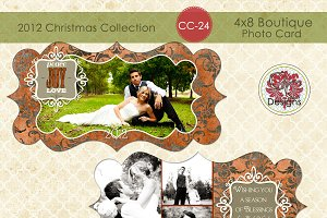 Christmas Photo Card CC-24