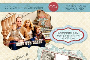 Christmas Photo Card Collection CC-4