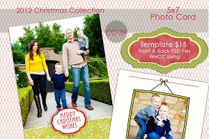 Christmas Photo Card  CC-39