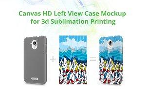 Canvas HD 3d Case Design Mock-up