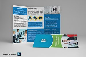 Trifold Business Brochure Vol04