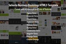 Saliente - Business Bootstrap HTML5