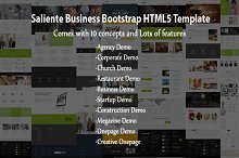 Saliente - Business HTML5 Template